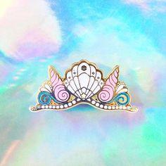 Mermaid Crown Pin
