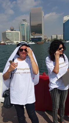 Crucero de Lideres 2015 de Swissgolden visitando los Emiratos Arabes en el Golfo Persico