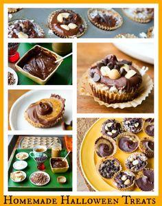 "Homemade Halloween Treats: Chocolate Candy ""Bar"""