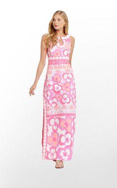 Lilly Pulitzer Didi Dress - Ohhhh retro, maxi, AND lace. <3