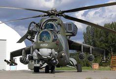 Mi-35 czech fighter
