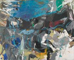 Abstract Expressionism is largely remembered as a movement defined by the paint-slinging, hard-drinking machismo of its poster boys Jackson Pollock a. Robert Motherwell, Franz Kline, Joan Mitchell, Willem De Kooning, Jackson Pollock, Abstract Painters, Abstract Art, Poetry Painting, Painting Art