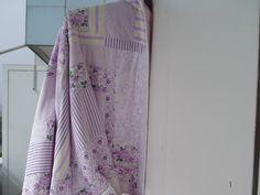 PATCHWORKDECKE   FIFTIES   flieder Bunt, Summer Dresses, Fashion, Linen Fabric, Fabrics, Cotton, Nice Asses, Moda, Summer Sundresses