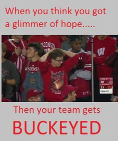 10-15-2016 GAME #6 THE VS. WISCONSIN .