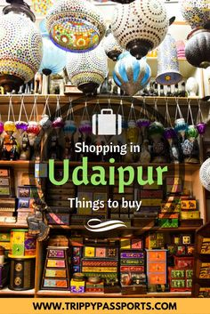 Shopping in Udaipur was truly the icing on our anniversary trip! Those 4 days in Udaipur were laced with little shopping sprees where we picked up several items unique to the historic city. India Travel Guide, Asia Travel, Solo Travel, Travel Tips, Travel Guides, Travel Checklist, Vacation Travel, Travel Packing, Wanderlust Travel