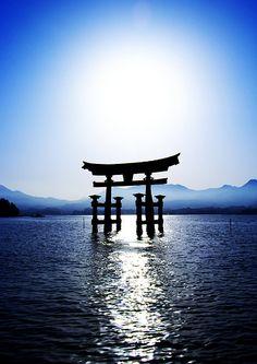 Miyajima Torii [Worldheritage]