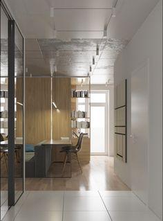 "homedesigning: ""(via 4 Bright Studio Apartments With Creative Bedroom Placement) "" Minimalist Interior, Minimalist Living, Small Room Bedroom, Bedroom Decor, Bedroom Ideas, Bed Room, Interior Design Inspiration, Home Decor Inspiration, Decor Ideas"