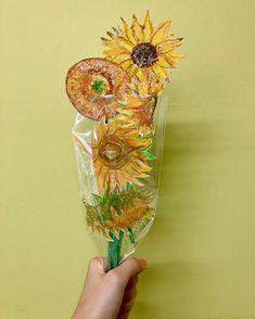 Art Activities, Projects For Kids, Flower Art, Art For Kids, Drawings, Artwork, Flowers, Pattern, Crafts