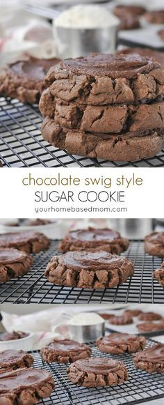 CHocolate Swig Style Sugar Cookies are amazing!