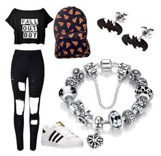 """Untitled #1"" by nastyaburdian ❤ liked on Polyvore featuring adidas"