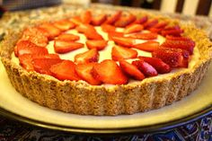 For the Love of Food!: Strawberry Tart (Gluten/Grain Free, Dairy Free, Soy Free, Egg Free)