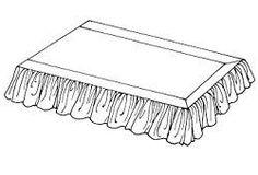 Estimated Yardage for Bedding...  Dust Ruffle