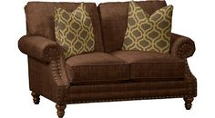 Living Rooms, Hamilton Loveseat, Living Rooms | Havertys Furniture