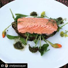 So fresh, healthy & beautiful!👌Thank you for sharing @chefjessicayarr. 🙏  #Repost @chefjessicayarr ・・・ First of the season salmon with first of the garden harvest goodies...dining al fresco w my little man at home #cookingonmydayoff #homegrown #homecooked #salmonseason2017 @hhfreshfishco #montereybaylocals - posted by H & H Fresh Fish Co. https://www.instagram.com/hhfreshfishco - See more of Monterey Bay at http://montereybaylocals.com