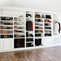 How To Create Build In Closet Shoe Wall