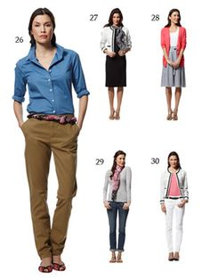 20 Summer Pieces - 51 Work & Play Outfits.  (26-30)  27. Putting the dress over a tie-neck top gives it a fresh spin.
