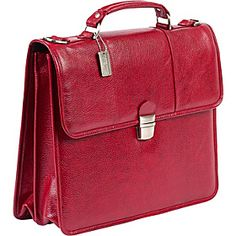 ClaireChase Tuscan Briefcase - Red - via eBags.com!