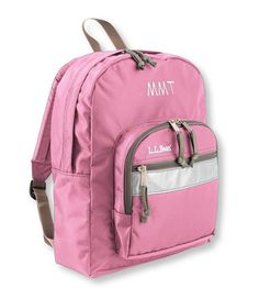 I am not actually sure that you can go to back to school without an LLBean backpack. $29.95