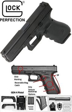 Glock 17 9mm Gen IV Pistol Fixed Sight 5lb Caliber: 9mm Safe Action pistol - $398.20Loading that magazine is a pain! Get your Magazine speedloader today! http://www.amazon.com/shops/raeind