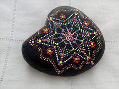 Paited Stone - Mandala - Mediterranean Sea