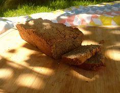 """Unser """"täglich Brot"""". Glutenfrei, aber voll mit tollen Zutaten und Geschmack und dazu sehr schnell und einfach gebacken."""