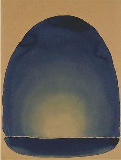 Georgia O'Keeffe, Light Coming on the Plains III, 1917