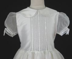 Embroidered Heirlooms Girls First by embroideredheirlooms on Etsy, $345.00 #FirstCommunionDress