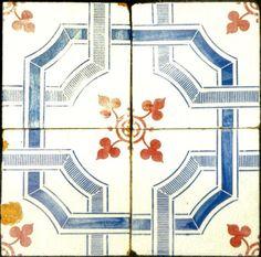 Azulejos antigos no Rio de Janeiro: Quissamã I - Solar de Mandiquera