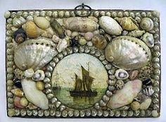 sailor's valentine trinket box.