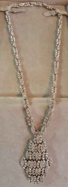 Vintage Eisenberg Necklace #Eisenberg