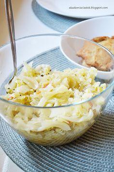 Akademia Ciastek... i nie tylko: Młoda kapusta z pomidorami Macaroni And Cheese, Ethnic Recipes, Food, Mac And Cheese, Meals, Yemek, Eten
