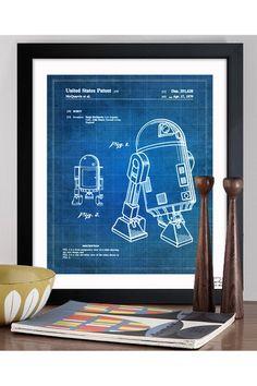 Robot II 1979 Framed Art Print - for Mike  #giftideas #gift #geek