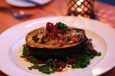 Stuffed Acorn Squash: Stuffed veggies are one of the most simple and impressive ways to turn vegetables, which are often served as a side dish, into the main course.