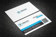 Creative & Modern Business Card by Verazo on Creative Market - http://crtv.mk/j0AiN