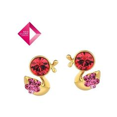 Aliexpress.com : Buy Neogloy Jewelry fashion crystal earrings alloy... via Polyvore