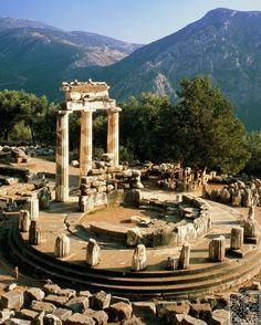 Delphi, Greece - 61 Ancient Ruins  around the World ...