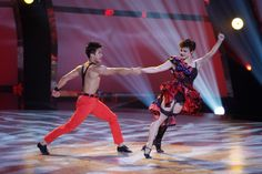 "Season 8 winner Melanie Moore and Marko Germar perform a Jazz routine to ""Americano,"" choreographed by Ray Leeper on SO YOU THINK YOU CAN DANCE."