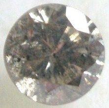 0.20 carats Round Silver Champagne DIAMOND 3.6mm Loose Genuine Diamond