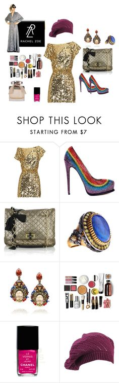 """so Rachel Zoe!!!"" by shopfashionista ❤ liked on Polyvore featuring Paul & Joe, Brian Atwood, Lanvin, Sara Weinstock, Erickson Beamon, Bobbi Brown Cosmetics, Chanel, Forever 21 and Rachel"