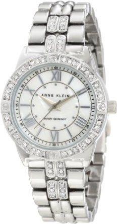 Anne Klein Women's 10/9721MPSV Swarovski Crystal Accented Silver-Amazon.com