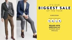 The Nordstrom Anniversary Sale 2017 – Picks for Men