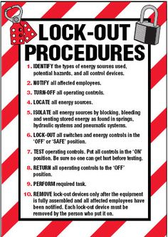 Enforce company policy with lockout signs and labels.Suitable for use on fuse switch boxes. Health And Safety Poster, Safety Posters, Arc Flash, Workplace Safety Tips, Safety Slogans, First Aid Tips, Lockout Tagout, Parking Solutions, Safety Topics