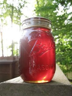 Dandelion Syrup - much like honey, with vanilla notes