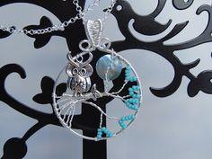 Heidin korutaiteilut: Pöllöilyä Wire Wrapping, Diy Jewelry, Washer Necklace, Diy Jewelry Making