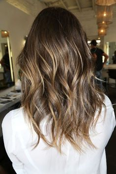 HAIR INSPIRATION: BROWN HAIR WITH SUBTLE HIGHLIGHTS (via Bloglovin.com )