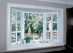 window treatments for bow windows in living room - Google Search