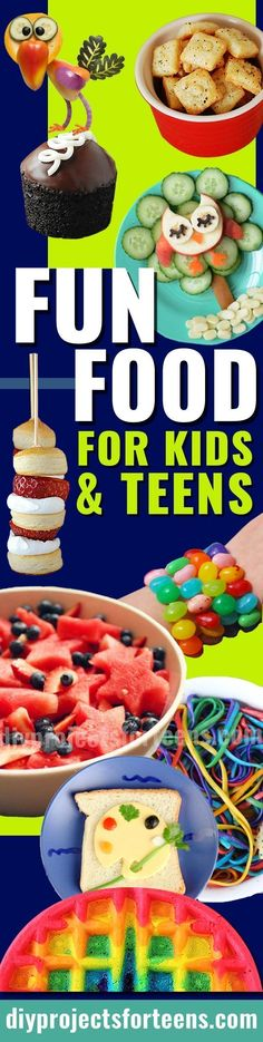 New Birthday Breakfast Kids Boys Easy Recipes Ideas Diy Projects For Teens, Diy For Teens, Crafts For Teens, Teen Diy, Easy Meals For Kids, Kids Meals, Rainbow Waffles, Birthday Party For Teens, Teen Birthday
