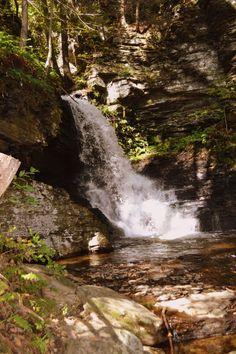 Bushkill Falls Red Trail - Poconos, PA