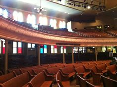 Ryman Auditorium in Nashville!!!