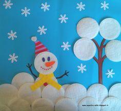 Winter Crafts For Kids Kids Crafts, Christmas Crafts For Kids, Christmas Activities, Winter Christmas, Kids Christmas, Projects For Kids, Diy And Crafts, Paper Crafts, Winter Art